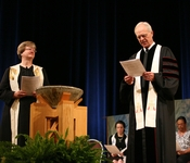 The Rev. Dr. Barbara Anne Keely and Rev. Bill Brown