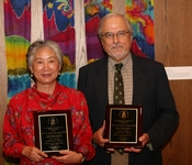 the Rev. Carol Chou Adams and the Rev. Dr. Daniel Adams